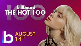 Billboard Hot 100 Top Singles This Week (August 14th, 2021)