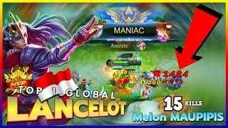That Unlimited Puncture with Ultra Hand Speed | Top 1 Global Lancelot by Melon MAUPIPIS ~ MLBB