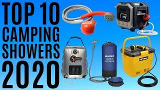 Top 10: Best Camping Showers for 2020 / Portable Shower / Outdoor Solar Shower / Camping Showerhead