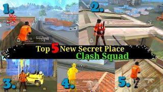 Top 5 New Secret Hidden Place In Clash Squad || Clash Squad Tips And Tricks || Abhi Play