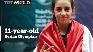 11-year-old Syrian table tennis player qualifies for Tokyo 2020