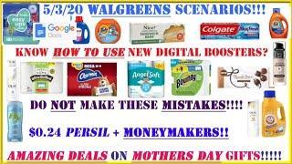 $0.24 PERSIL+MONEYMAKERS- Walgreens Deals 5/3-5/9 + Walgreens Scenarios 5/3 + NEW Walgreens Digitals