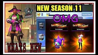 Pubg Mobile lite New Season 11 ||  winner pass upgrade || whats new || full review || 800uc upgrade