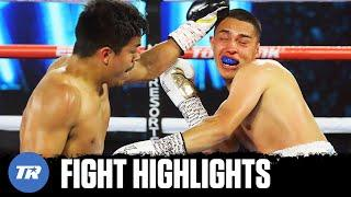 Robert 'Shaky' Rodriguez gives Adrian Servin his 1st Loss with Knockout victory | FIGHT HIGHLIGHTS