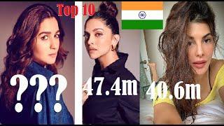 Top 10 Indian Girls Instagram Followers