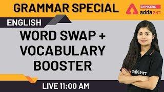 Word Swap + Vocabulary Booster | Learn English Grammar | English Grammar Lessons for Beginners