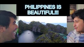 TOP 10 PHILIPPINES DESTINATIONS REACTION! THIS COUNTRY IS BEAUTIFUL!!