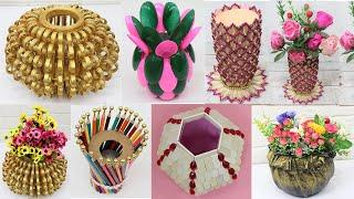 10 Flower Vase from different materials