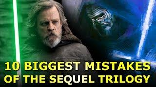 Top 10 Biggest Mistakes of the Star Wars Sequel Trilogy (And How To Fix Them)