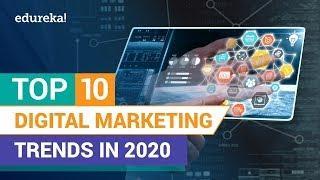 Top 10 Digital Marketing Trends in 2020 | Future of Digital Marketing | Edureka
