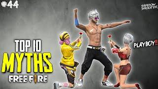 Top 10 Mythbusters in FREEFIRE Battleground | FREEFIRE Myths #44