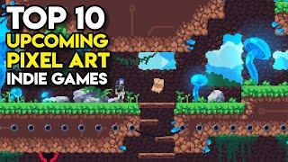 Top 10 Upcoming PIXEL ART Indie Games on Steam (PC)   2021, 2022, TBA