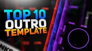 Top 10 Best End Screen Outro Template 2020 || No Text Outro Template