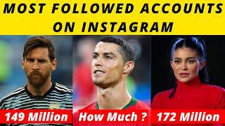 Top 10 Most Followed Instagram Accounts 2020 || Most Followed Accounts On Instagram
