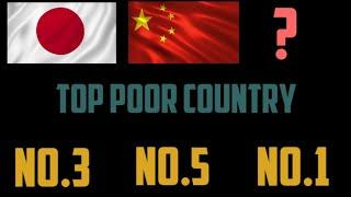 Top10 poor Country in The world