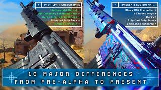 Modern Warfare: 10 MAJOR Differences From Pre-Alpha to Present (MW Changes)