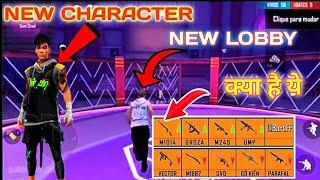 FREE FIRE OB26 UPDATE FULL REVIEW | FREE FIRE NEW CHARACTER,NEW LOBBY, FREE FIRE NEW GUN SKIN.