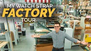 Touring Our Watch Strap Factory - How Watch Straps Are Made