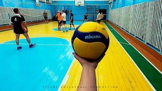 Volleyball first person | Women Setter | Highlights | 10 episode | POV