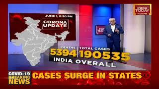 COVID-19 Update From Across The Country: Total Cases In India Stands At 1,90,535