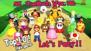 Super mario party Switch | Top 10 Party Game Let's Gaming 2020