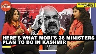 36 Modi govt ministers to visit Jammu & Kashmir later this month - here's what they plan to do