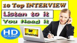 Top 10 JOB INTERVIEW Questions And Answers In English for Freshers & Experienced TheUrbanFight