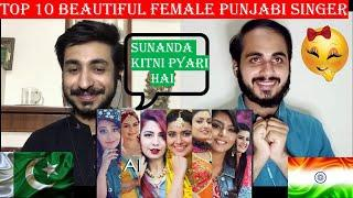 Pakistani Reaction On Top 10 Beautiful Female Punjabi Singers || PAK Review's ||