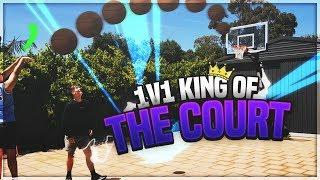 Who's The Best!?! 1V1 KING OF THE COURT BASKETBALL