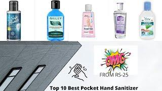 Top 10 Best Pocket Hand Sanitizer in India