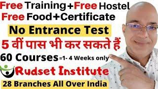 Good income Part Time job | Work from home | freelance | Free Training | Rudset Institute |