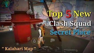 Top 5 New Secret Hidden Place In Clash Squad || Kalahari Clash Squad Tips And Tricks || Abhi Play