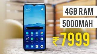 Top 5 Smartphones Under 10000 in 2020 | Best Budget Phones ₹8000