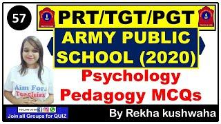 (2020) Army Public School Mock Test- 57 (Part-A & B) | Best Psychology Previous Year Questions