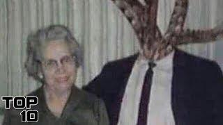 Top 10 Scary Monsters That Were Pretending To Be Human