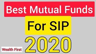 English | BEST MUTUAL FUNDS 2020 | BEST SIP FOR BEGINNERS | MUTUAL FUND FOR LONG TERM | #wealthfirst