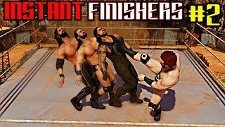 WWE 2K20 Instant Finishers Part 2! Top 10