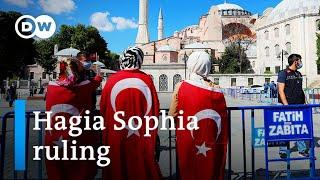 Turkish court rules Istanbul's Hagia Sophia can revert to a mosque | DW News