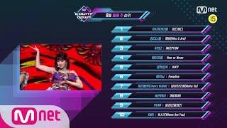 What are the TOP10 Songs in 2nd week of August? M COUNTDOWN 200813 EP.678