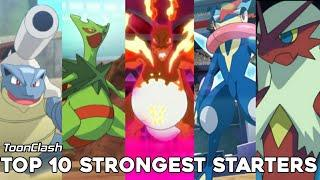 Top 10 strongest starter pokemon. In hindi. By Toon Clash.