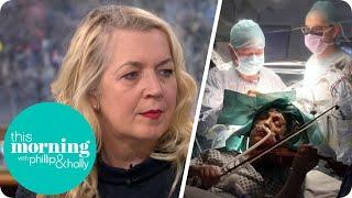 Musician Played Violin During Brain Surgery | This Morning