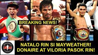NUMBER 1 si PACQUIAO sa TOP 50 FIGTHERS Of The CENTURY! DONAIRE at VILORIA PASOK rin!
