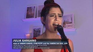 American Idol 2020, S18E14, Top 10, Julia Gargano - New York State of Mind (Sing)