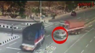 ক্যামেরায় রেকড় না হলে বিশ্বাস করতেন না || Top 10 Road Accident || ODVOT 5