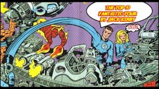 Top 10 Jack Kirby Fantastic Four Issues - Jack Kirby Month