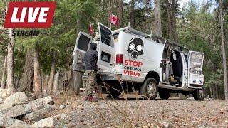 Best Way To PASS THE TIME  In Our Fully Stocked OFF-GRID Adventure VAN...Yup Livestream