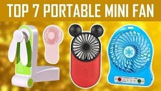 Top 7 Rechargeable and Portable Hand Mini USB Fan on Aliexpress 2020