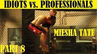 Top 10 Idiots Who Challenged Professional Fighters - Part 8