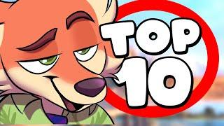 Top 10 Furry Characters of All Time
