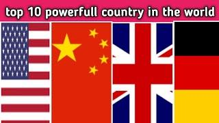 top 10 powerfull country in world